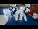 Маваше гери дзёдан в голову в Кёкусинкай карате Рябоволов Денис Начальная группа 2 3 класс Клуб Тэнгу Про Мурманск
