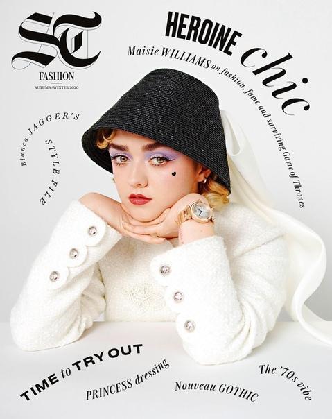 Звезда «Новых мутантов» Мэйси Уильямс на страницах свежего выпуска Telegraph Luxury Уже в кинотеатрах, если в вашем городе они открыты,