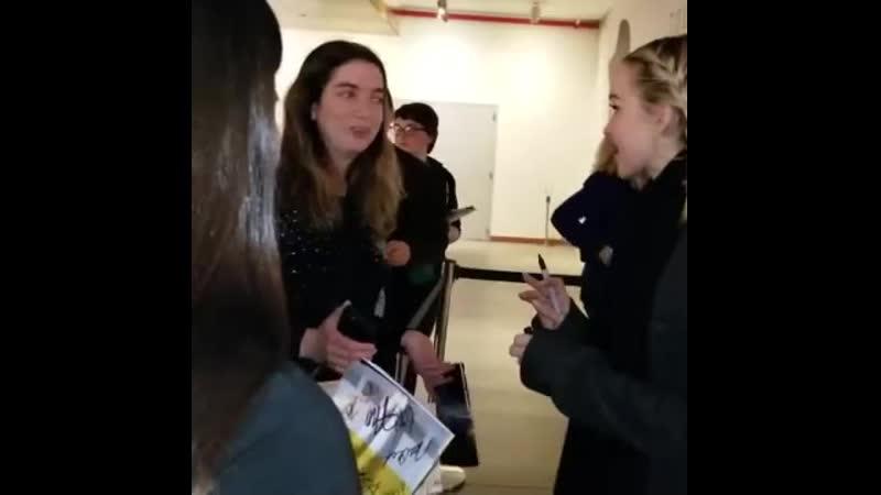 Встреча с поклонниками после мюзикла Бестолковые Видео от поклонника