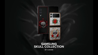 Caviar will decorate the luxury versions of the Samsung Z-Fold 3 and Z-Flip 3 with skulls