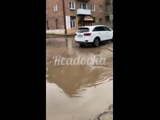 Дорога к детскому саду в Смоленске