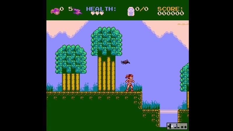 NES Eyra the Crow Maiden Demo KS