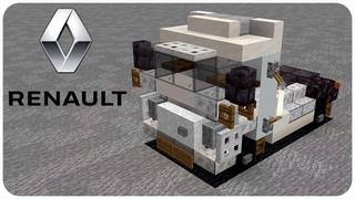 How to Build a Truck in Minecraft (Renault Magnum) Minecraft Truck Tutorial