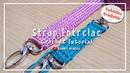 Crochet    Merajut Tali Entrelac - Bag Strap [Subtitles Available]