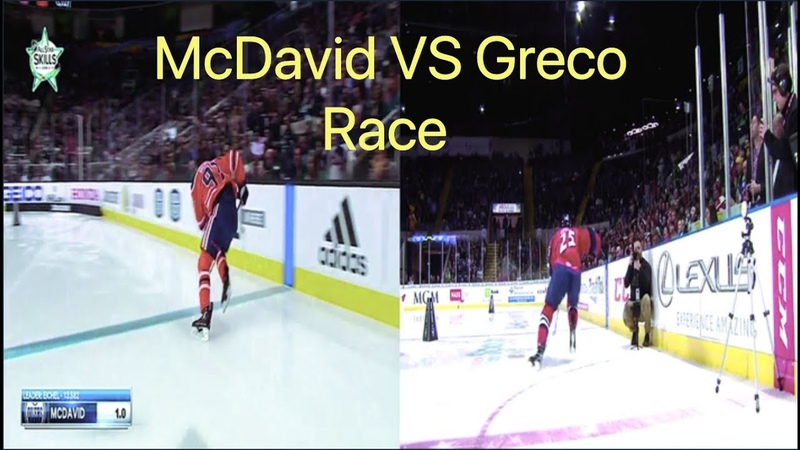 Connor McDavid vs Anthony Greco: Speed Race