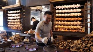 튀긴 치킨이 싫을땐? 기름기 쫙뺀 장작구이 통닭 모음 | Non-greasy wood-fired whole chicken collection | Korean Street food