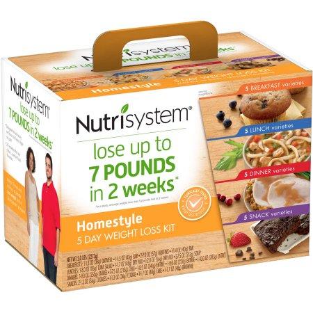 Nutrisystem - это 28-дневная низкокалорийная программа по снижению веса и доставке еды.