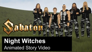 SABATON - Night Witches (Animated Story Video)