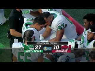Texas at Arkansas