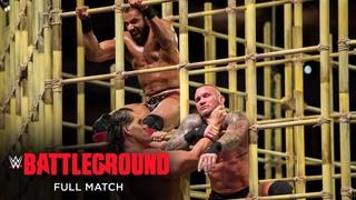 FULL MATCH - Jinder Mahal vs. Randy Orton – WWE Title Punjabi Prison Match: WWE Battleground 2017