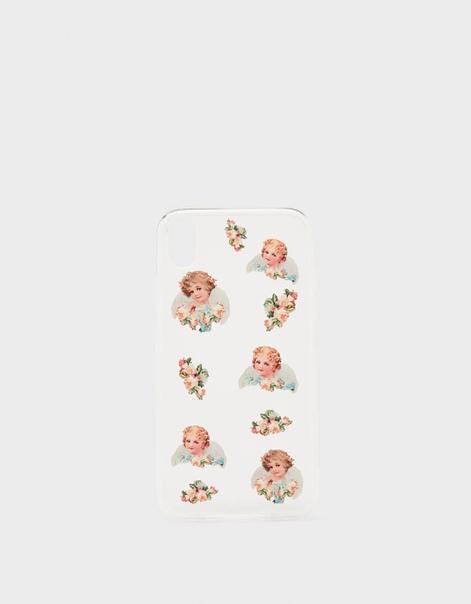 Чехол для iPhone XR с принтом «Ангелы»