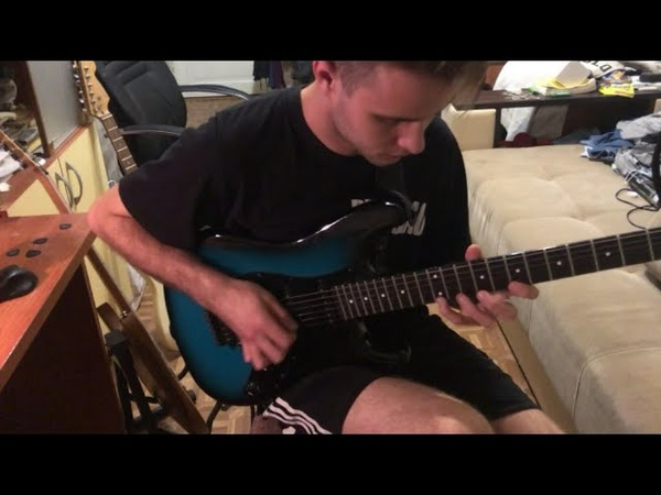 Symphony X - The Damnation Game Solos (Guitar cover by Nick Stenkin)