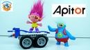 Тролли и Мега Колесница! Конструктор Apitor Super Bot СПЕЦЗАКАЗ