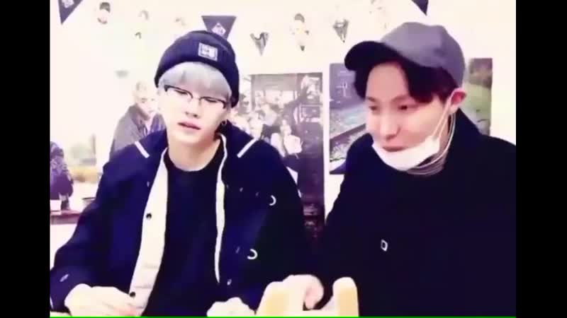 Hobi being SO hyped up abt yoongi's bday but yoongi loving his enthusiasm