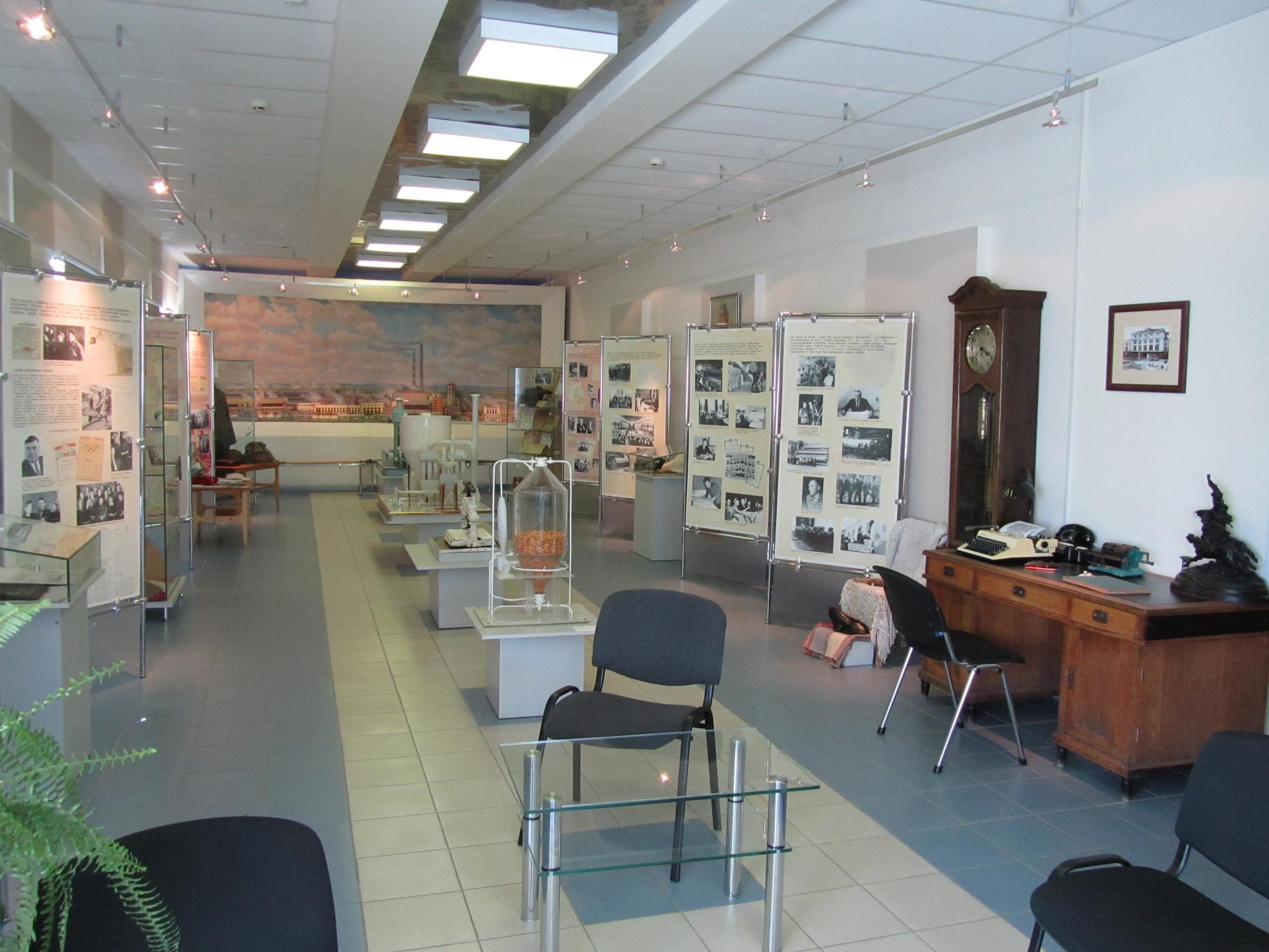 Главный зал музея Соликамской бумажной промышленности