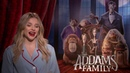 Chloe Grace Moretz Interview The Addams Family