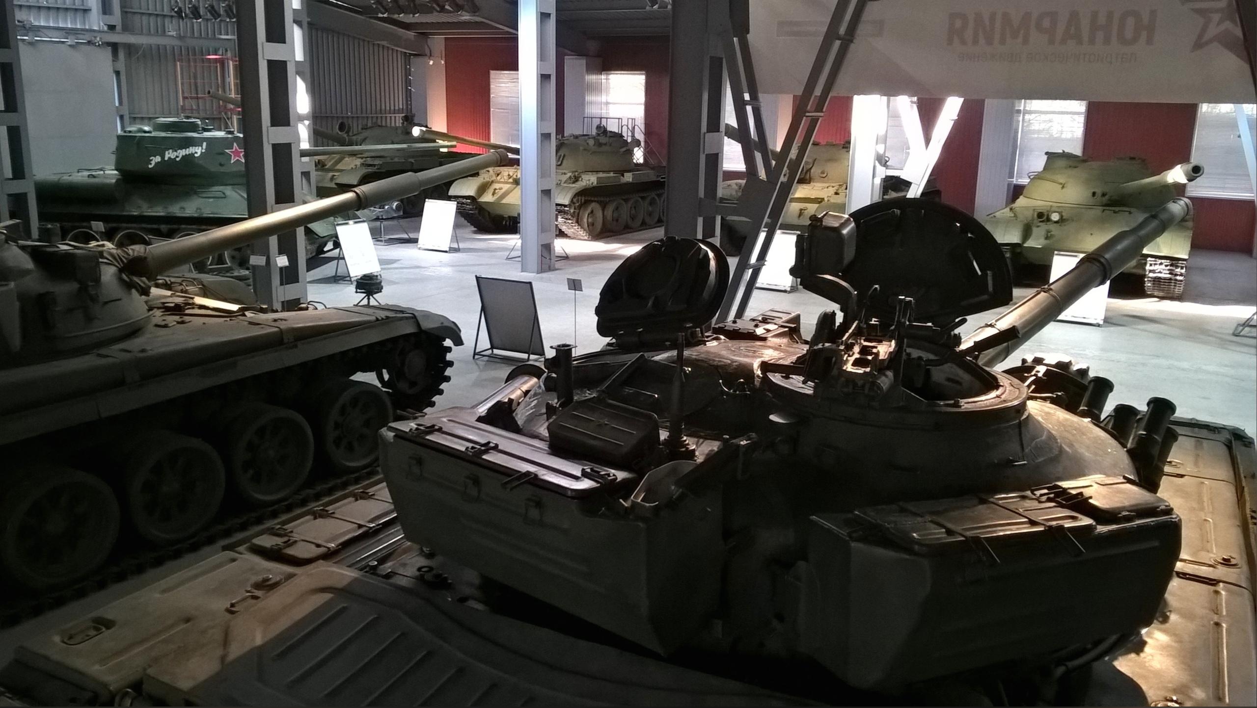 Танковый музей в Нижнем Тагиле