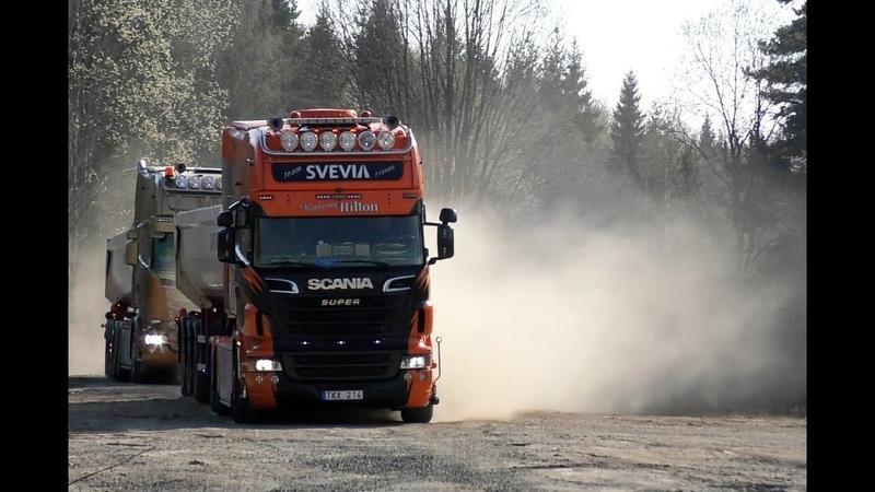 Scania R500 6X2 Longline Scania R580 6X4 Tipping
