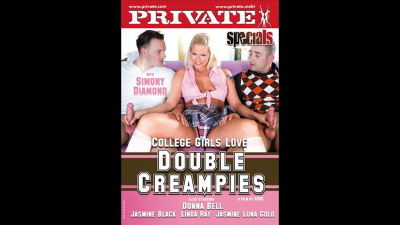 +Private Specials 30 - College Girls Love Double Creampies. Simony Diamond