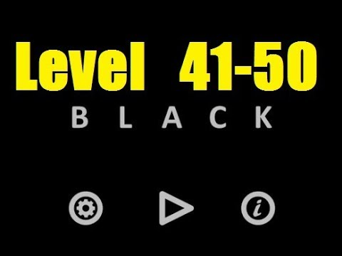 Black Level 41 50 Level 41 42 43 44 45 46 47 48 49 50 Bart Bonte