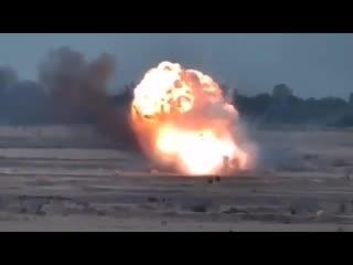 Минобороны Армении публикует кадры уничтожения летательных аппаратов ВС Азербайд