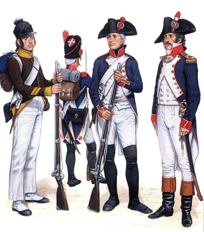 Солдаты Франции