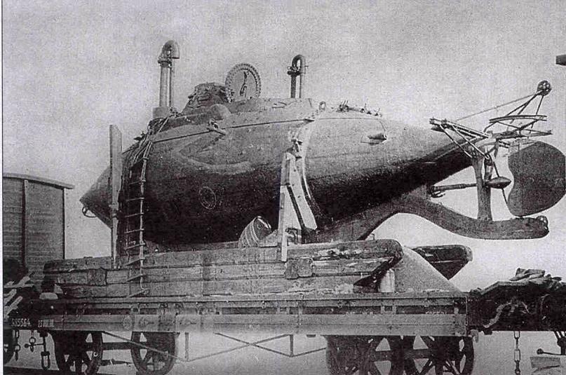 Подводная лодка «Чилим» («Челим») конструкции А.С. Боткина.