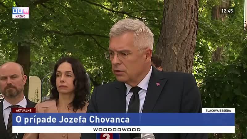 Kto bude expertom zo slovenskej strany vo vyšetrovacom tíme prípadu Jozefa Chovanca 11 9 2020