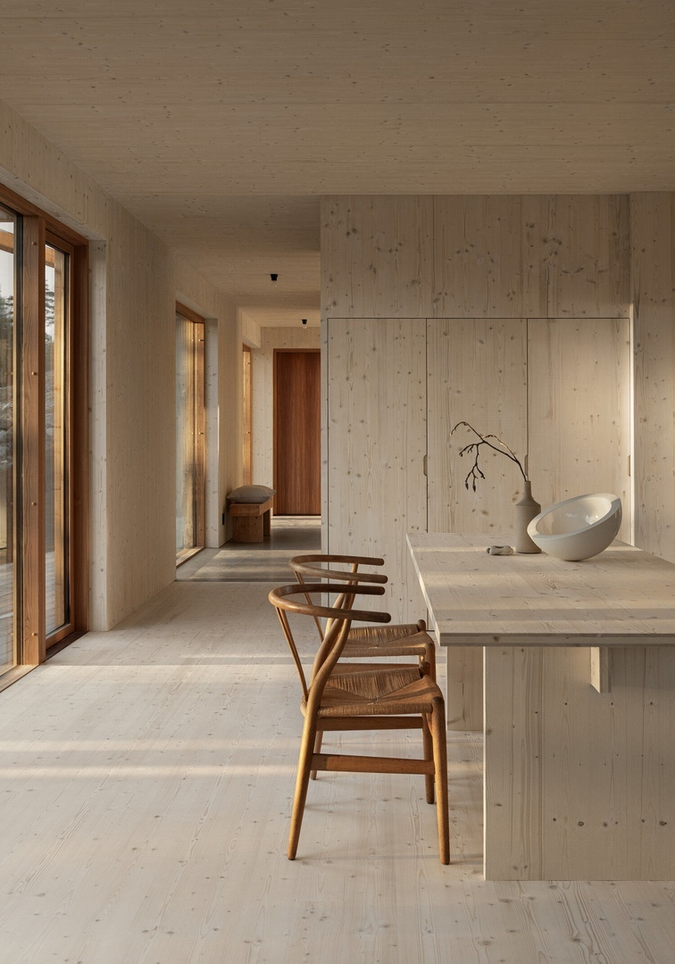 A Beautiful, Simple And Sustainable Wooden Home In Sweden