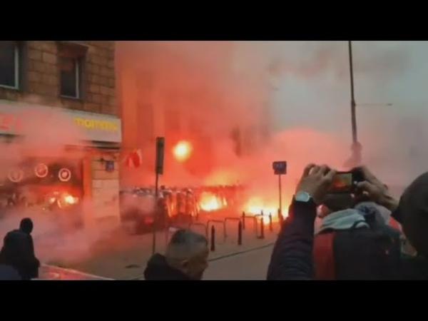 Wojna w centrum Warszawy podczas Marszu Niepodległości 2020