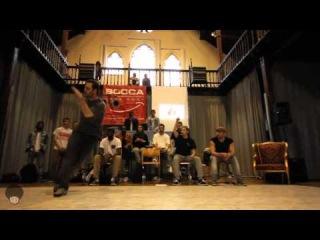 | <<  Sam (Team Shmetta) | Bboy judge Demo | Battlefort 2014 | Ocloo Productions | <<