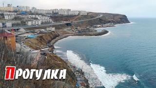 На сопках бухты Тихой, Владивосток.