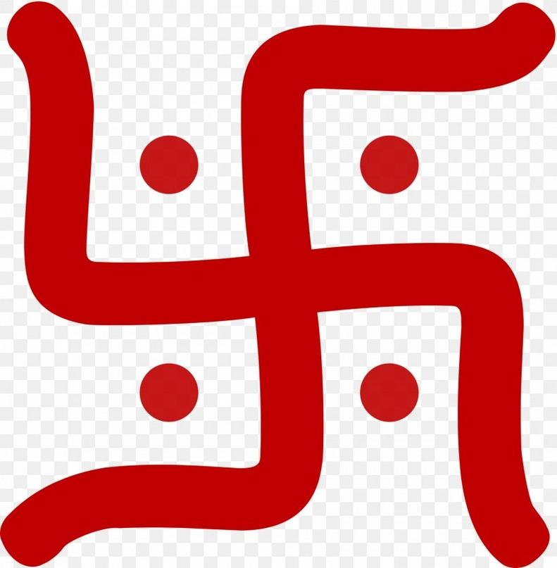 Слово «свастика» происходит от санскритского «svastika», что означает «счастье» или «благоденствие»