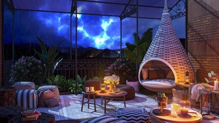 Sleep w/ Thunderstorm & Rain Sounds   Relaxing Sounds, Lightning & Thunder for Sleeping, Insomnia