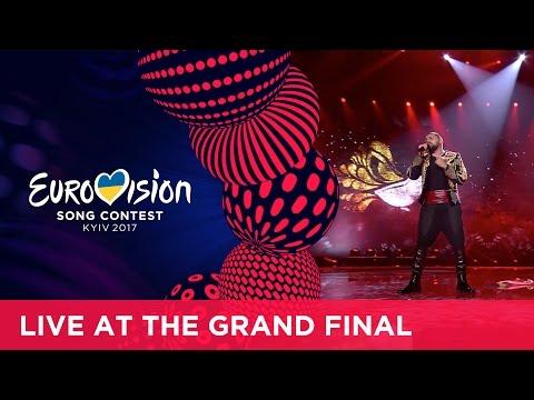 Joci Pápai Origo Hungary LIVE at the Grand Final of the 2017 Eurovision Song Contest
