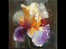 Ирис.Мастер-классы по живописи Вугара Мамедова.Draw irises