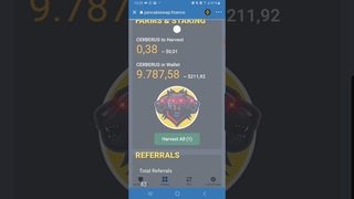 CERBERUS How to witdraw and switch tokens to BNB #PtcPat guiding you trough the steps Tutorial! DYOR