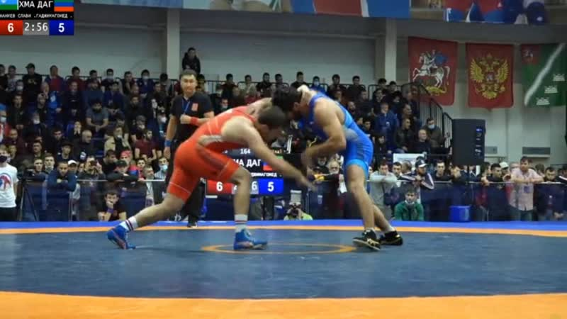 До 86 кг 1 8 финала Ахмед Гаджимагомедов Дагестан Славик Наниев ХМАО