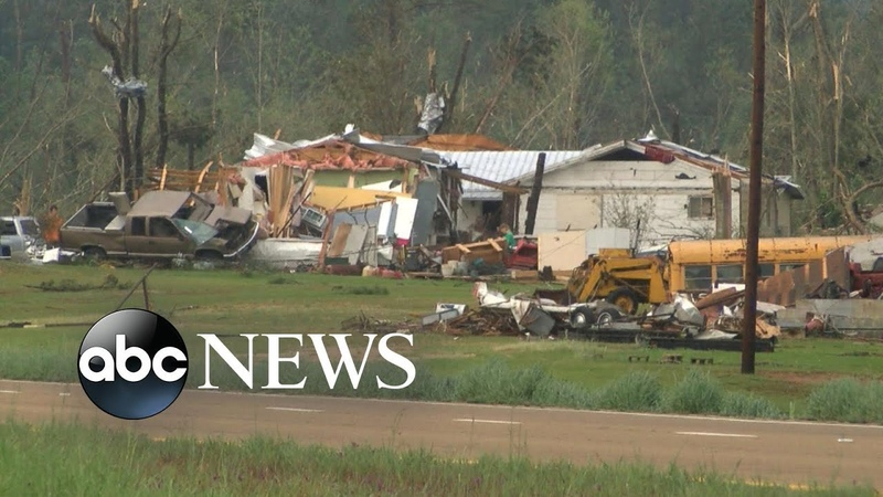 Devastating tornadoes sweep the South l ABC News