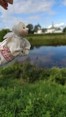 Взлетают наши ангелочки под звон колоколов в Суздале))  #нежный_ветер_путешествие #ангел #суздаль