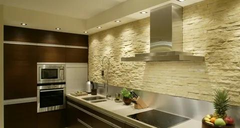 фартук на кухню из плитки варианты отделки