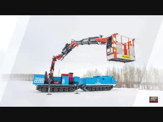 Снегоболотоход-амфибия ДТ-30П Витязь от компании ГИРТЕК