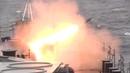 Учения кораблей СФ с стрельбой из ЗРК «Кинжал», установок АК-630, АК-100 и АК-725 в Баренцевом море