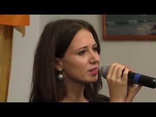 Диана Кириенко читает стихи Нимы Юшиджа @ ДК Гайдаровец