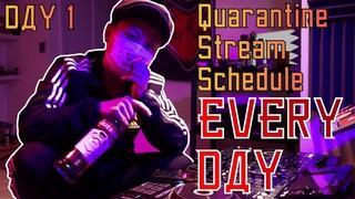 DJ RAVINE - Isolation & Quarantine Stream DAY 1 (HARDSTYLE, HARDCORE)