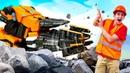 Тобот МЕГАДРЕЛЬ - Игрушки не могу выбраться Роботы трансформеры для мальчиков помогут!