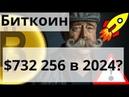 Биткоин $732 256 в 2024 Реальная доминация биткоина 90