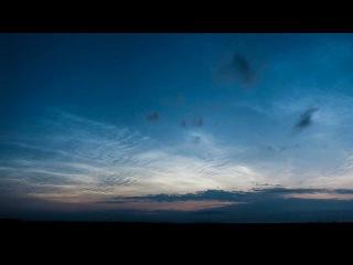 Noctilucent clouds over Urals