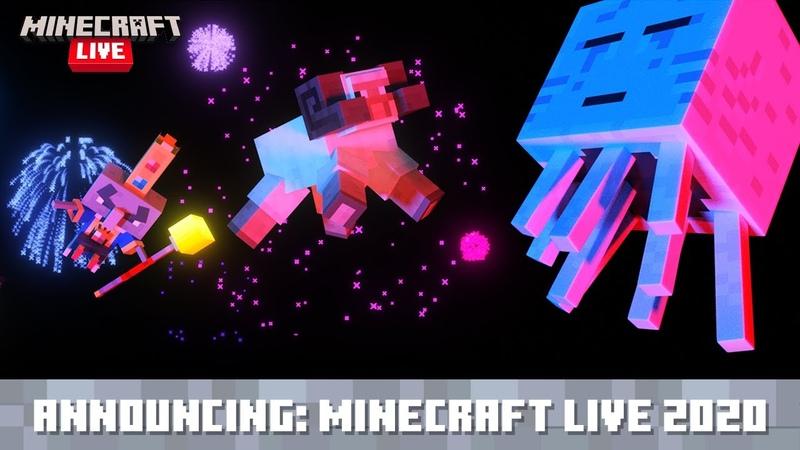 Minecraft Live Анонс