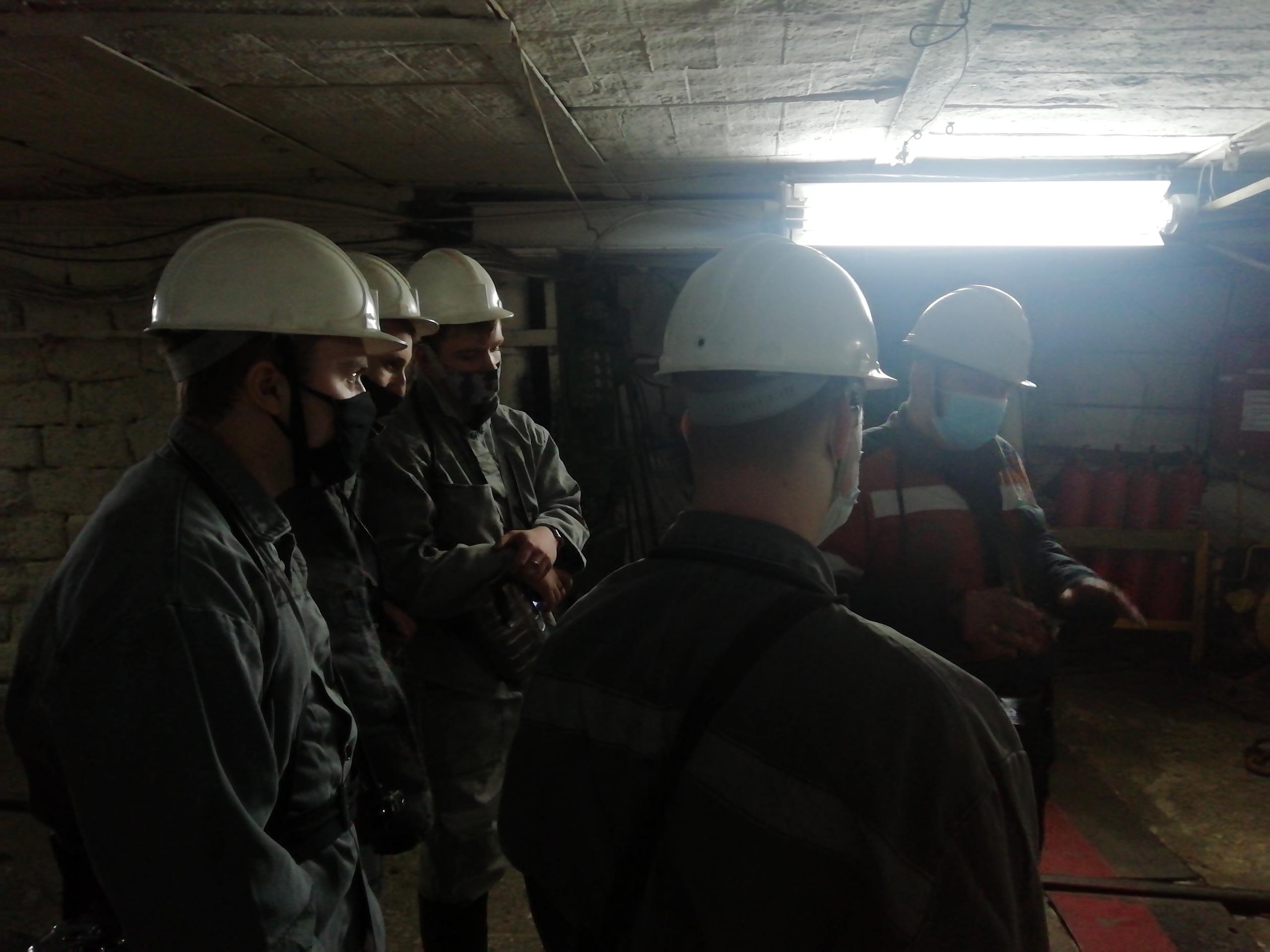 Экскурсия в шахту  16.04.21